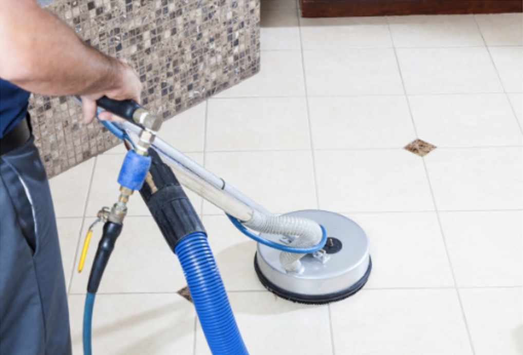 Cleaning the floors is essential post construction