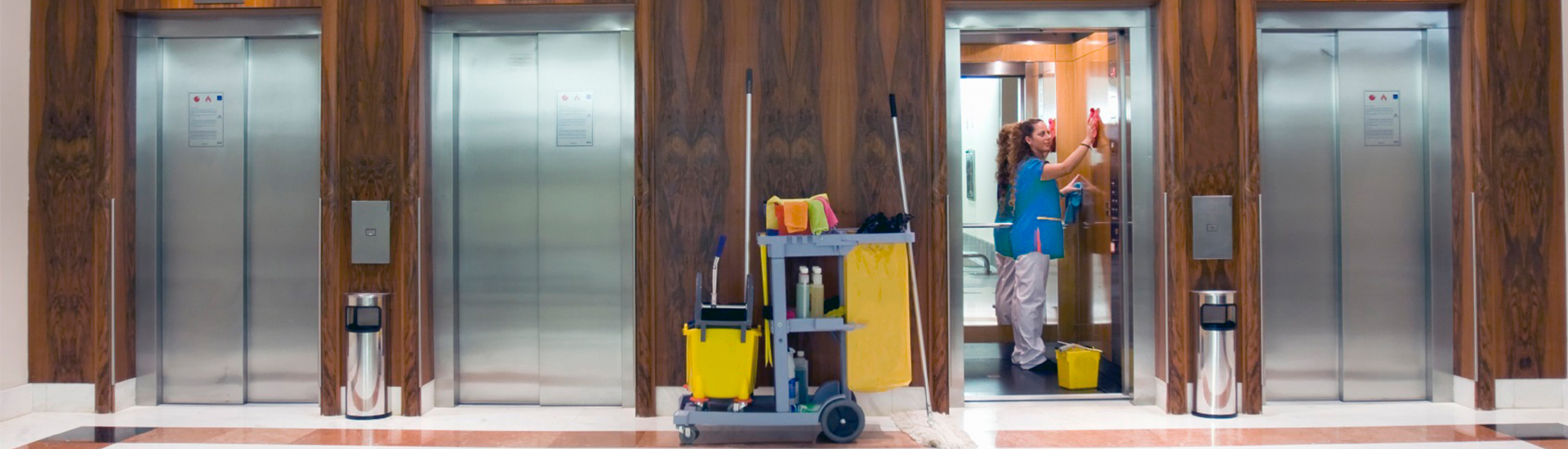 Janitorial provider banner